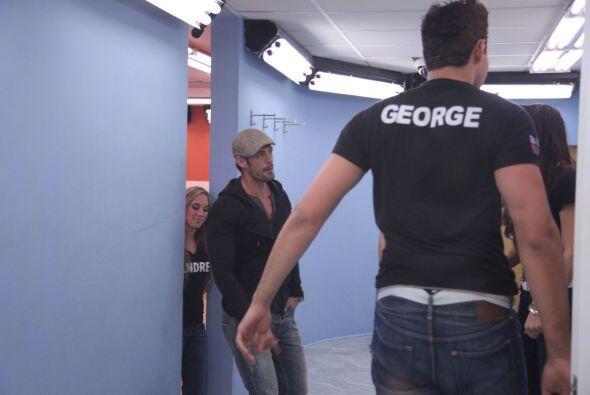 George aprendió mucho de William y pensar que un día estuvo en la misma...