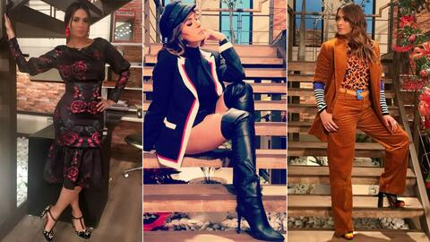 Galilea Montijo outfit otoño 2017