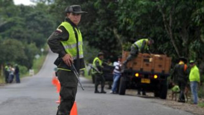 La detención fue realizada en la capital colombiana después de un proces...