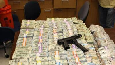 Miami police recovered at least $24 million during a drug bust. (Miami Dade Police)