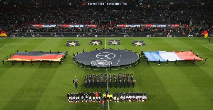 Alemania vs. Francia, amistoso 2017