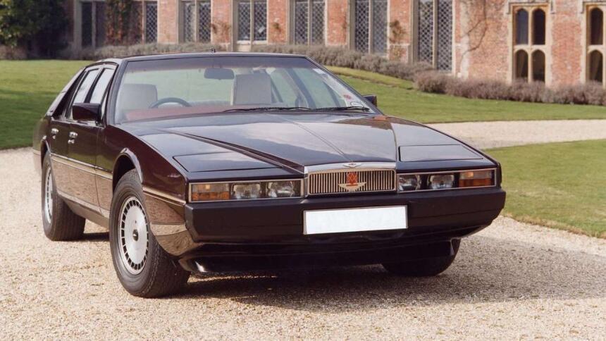 Los 15 carros más horrorosos de todos los tiempos 8.Aston_Martin-Lagonda...