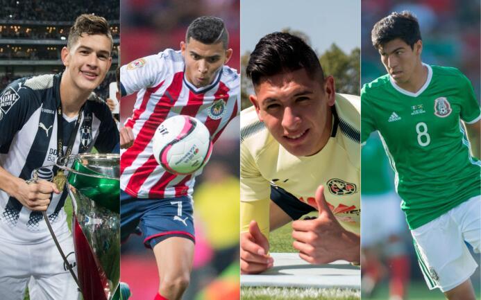 Cartera de jóvenes y talentosos de la Liga MX para el Clausura 2018 expo...