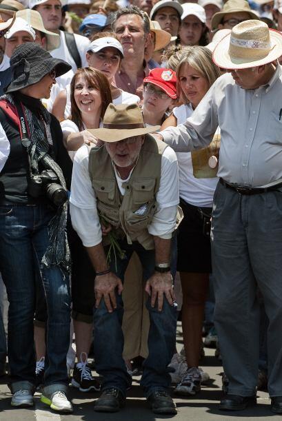 El activista criticó la estrategia de militarización contra el crimen or...
