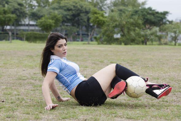 Fiorella promete ser un gran hit durante la copa mundial de Brasil.