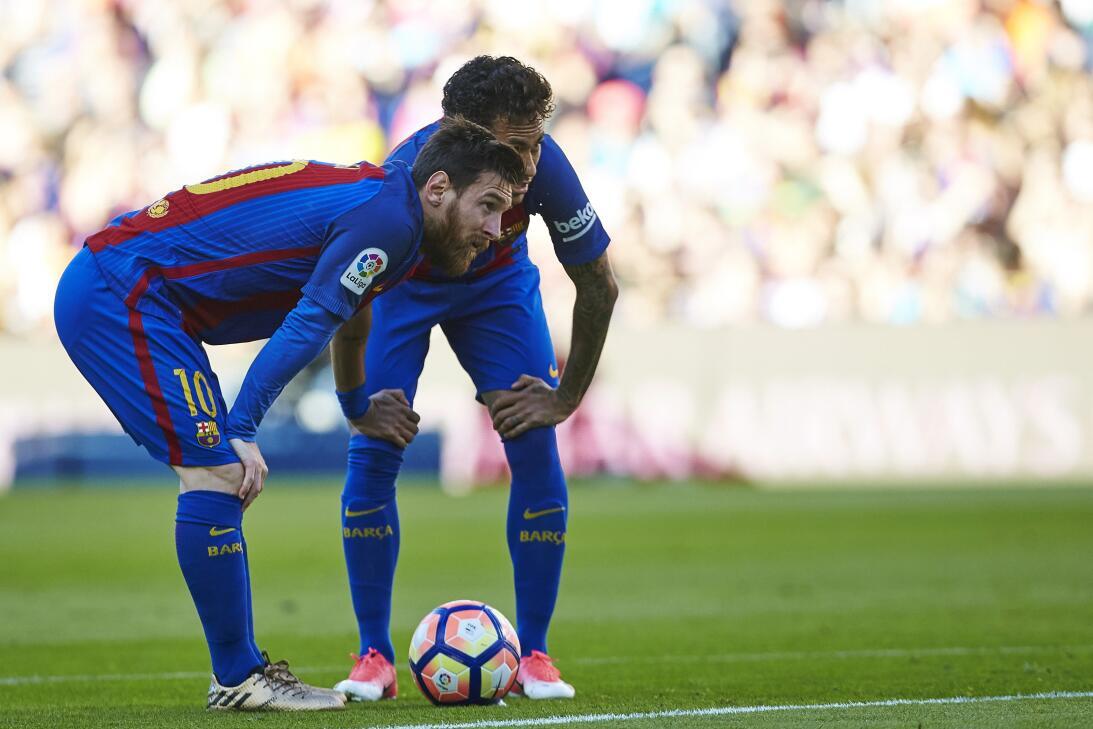 El Villarreal de Jona Dos Santos cayó goleado en un recital de la 'MSN'...