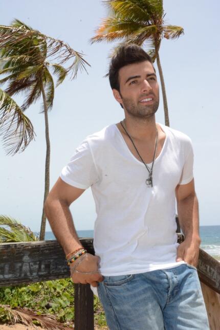 Jencarlos filmó su video 'Bajito'.