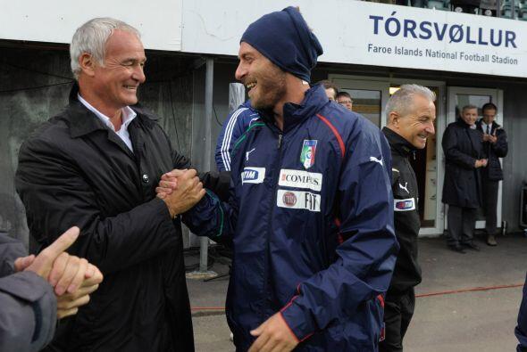 Aquí vemos a Claudio Ranieri, técnico italiano que hasta hace no mucho t...