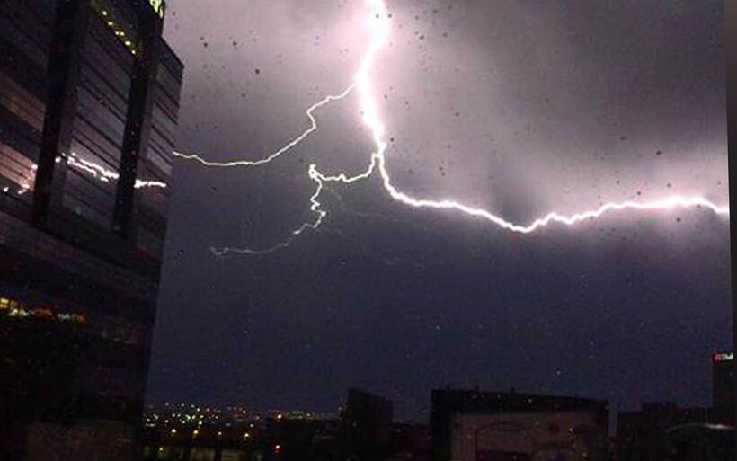 Retrato de una tormenta eléctrica: imágenes captadas por r...