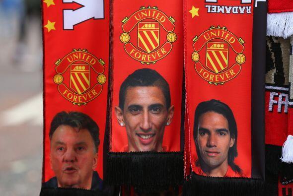 Una gran expectativa se vivía previo al duelo del Manchester United ante...