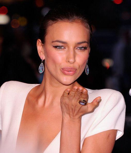Los labios de Irina Shayk son catalogados como unos de los más ricos del...