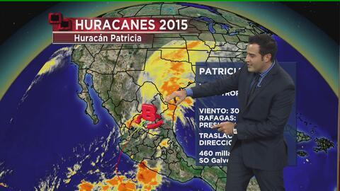 El impacto de Patricia en Texas