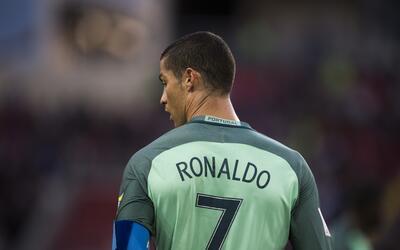 'CR7' completó el 'poker' con Portugal; ya anotó en las cuatro grandes c...