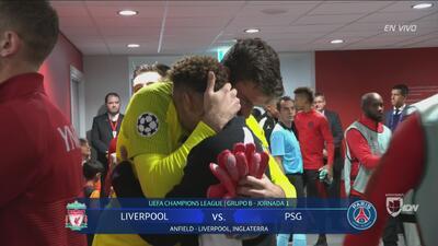 Las postales de la Champions: abrazo de hermanos entre Neymar y Alisson