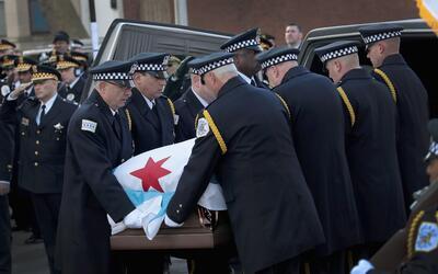 Imágenes del funeral de Paul Bauer