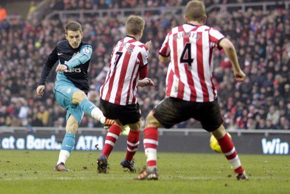 .El 11 de febrero de 2012, él gales volvió a marcar, ahora ante el Sunde...