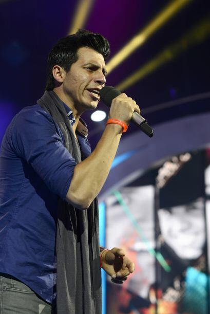 Mario Pacheco en los ensayos de la primera gala.
