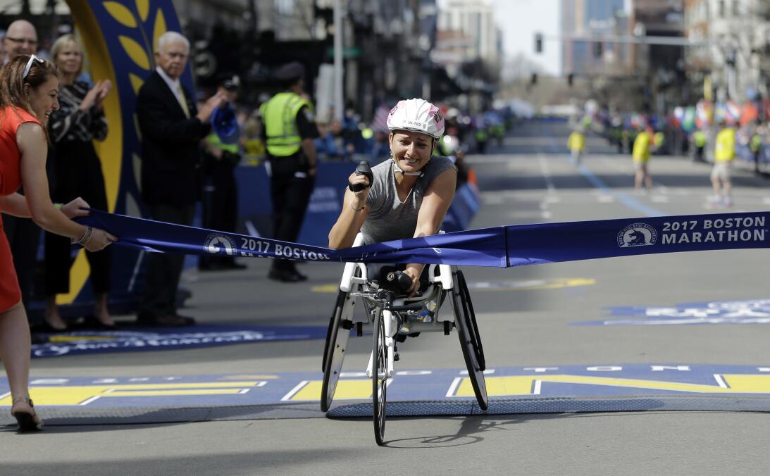Triunfos kenianos en un Maratón de Boston irradiando esperanza en las ca...