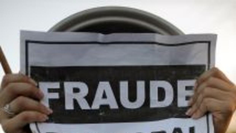 La UE calificó como arbitraria la labor de las autoridades electorales e...