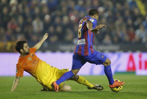 Barcelona tenía una gran oportunidad en la fecha 13 de la Liga española,...