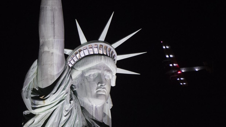 Potente mensaje de libertad que desde el 1886 expresa desde Ellis Island.