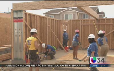 Construyen casas asequibles a veteranos