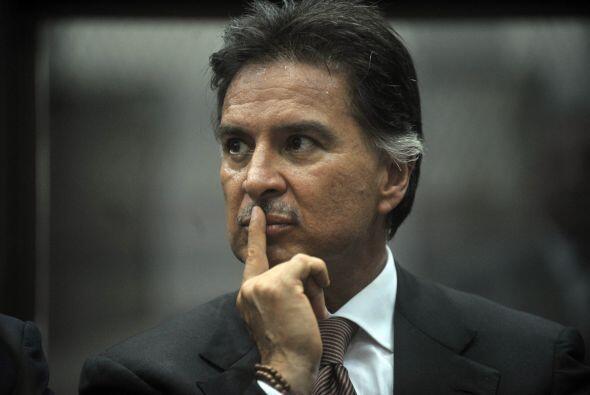 El ex presidente de Guatemala, Alfonso Portillo fue absuelto por un trib...