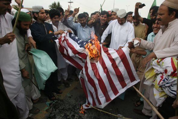Las protestas se expandieron hasta Afganistán. En Kandahar, miles se man...