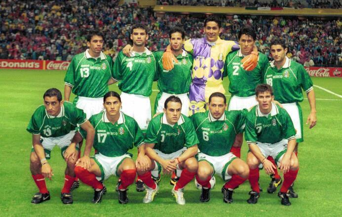 ¿Qué pasó con los 20 campeones de México en la Copa Confederaciones de 1...