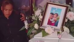 El llanto sin consuelo de una abuela que perdió a su nieta y yerno a man...