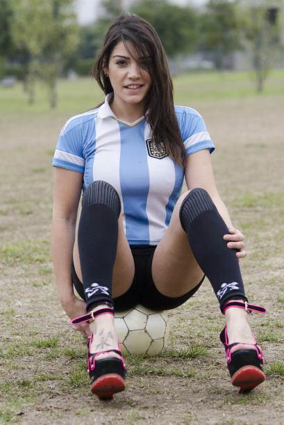 Además Fiorella dijo que nunca se ha dedicado a practicar fútbol.