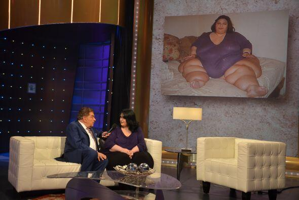 Por amor, esta mujer logró bajar más de 800 libras.