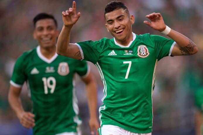 Orbelín Pineda (México): un gol.