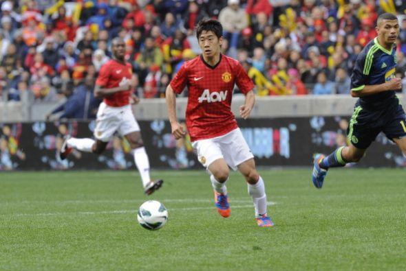 Shinji Kagawa fue de lo mejor en los ingleses.
