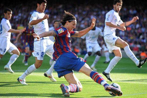 El sueco Zlatan Ibrahimovic mostró destellos de su enorme calidad.