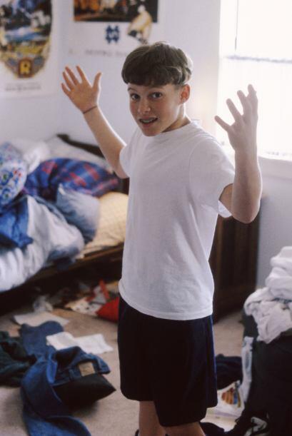 ¿Qué pedirles? Es conveniente pedirle a tu hijo que limpie su dormitorio...