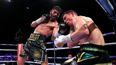 Las mejores imágenes del combate entre Jorge Linares y Anthony Crolla