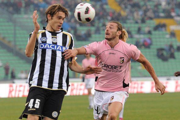 Y finalmente, Udinese y Palermo protagonizaron un buen encuentro.