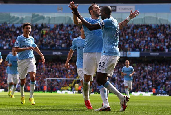 El Manchester City del chileno Manuel Pellegrini, reforzado con los espa...