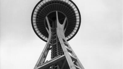 La torre sapce Needel abrió al público en 1962 con motivo de la Exposici...