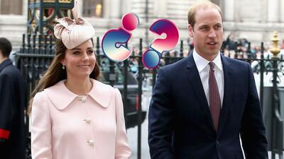 ¿A quién se parecerá el segundo bebé de Kate Middleton y el príncipe Wil...