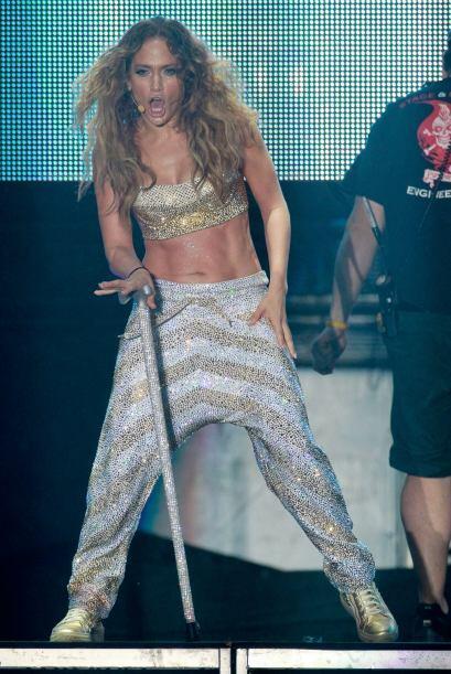 Jennifer Lopez trabajó mucho para recuperar sus cuadritos. Más videos de...