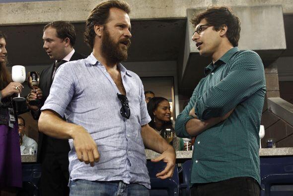 Andy Samberg, estrella de Saturday Night Live, se encontraba entre el p&...