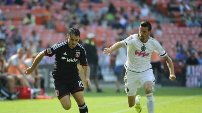 D.C. United vence 3-2 Philadelphia Union