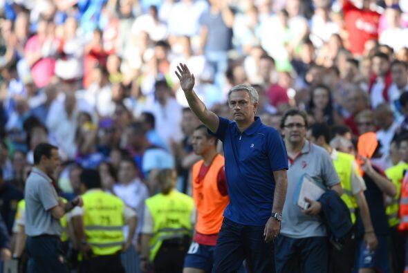 El portugués no acudió a la rueda de prensa posterior al partido, algo y...
