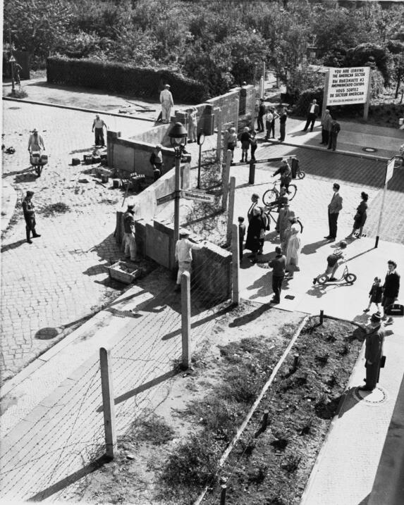 Muro de Berlín 1961