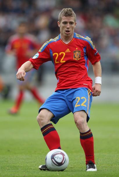Disputó el Europeo Sub 21 con el equipo español y fue fundamental para l...