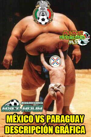 El México vs. Paraguay fue criticado en las redes sociales conpor...