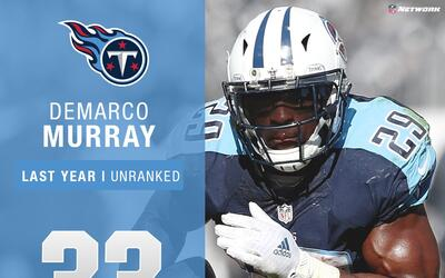 #33: DeMarco Murray (RB, Titans) | Top 100 Jugadores 2017