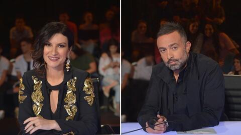 Laura y Mario tuvieron sus diferencias en el primer en vivo de La Banda